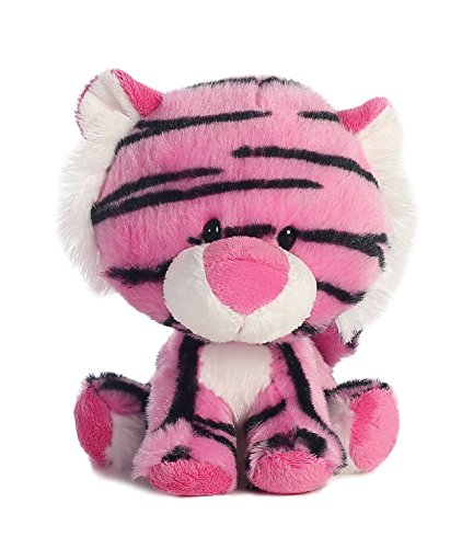 Aurora World Wobbly Bobblees To A Tee Tiger Plush