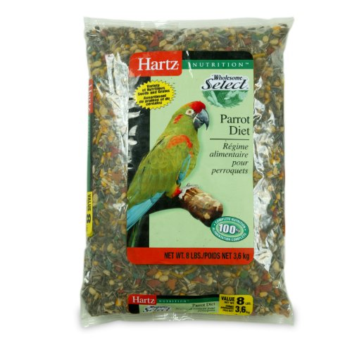Hartz Bird Diet Food for Large Birds, 8-Pound