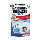 Heitmann Anti-calcaire 3 en 1 pour lave-vaisselle/machine à laver 175g