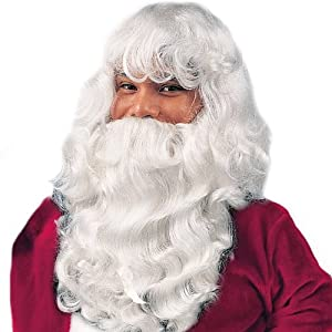 Deluxe Santa Wig & Beard Costume Accessory
