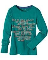 TOM TAILOR Kids Mädchen Langarmshirt 10266130040 wording/310