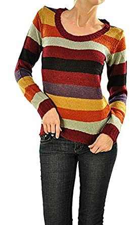 Sweater - Striped, Long Sleeve (Large)