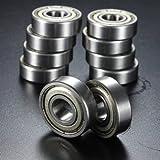10個入りの10x26x8mmメタルは6000-2Z 6000-ZZ深溝玉軸受を封印します