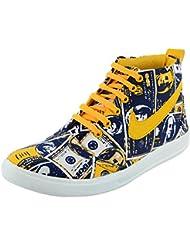 Good Luck Footwear Men's High Top Shoes - B01CER622G