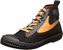 Diesel Draags94 Sneakers (Orange, Black) - 8 UK (Black)