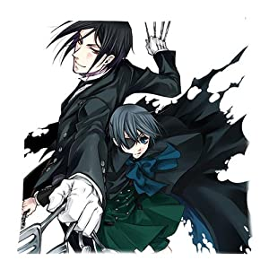 Amazon.com: Anime Ciel And Sebastain Black Butler Pillowcases Custom Pillow Case Cushion Cover ...