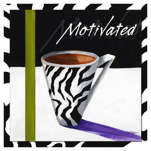 Zebra Mug 1 by Cathy Hartgraves Art Print Poster or Canvas