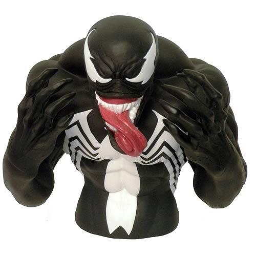 Spiderman Venom Bust Bank Picture