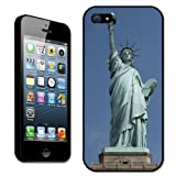 Fancy A Snuggle Statue of Liberty New York USA Clip On Back Cover Hard Case for Apple iPhone 5