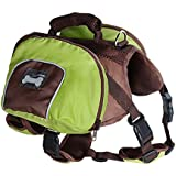 Imported Dog Foldable Backpack Waterproof Portable Travel Outdoor Bag Pack Green S