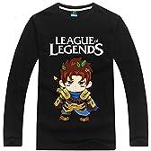 [League of Legends] キャラクターTシャツシリーズ ロング Garen 3カラー XS~XXL [CC-LOL-0117]