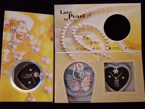 Natural Oyster Pearl Necklace Kit