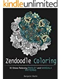Zendoodle Coloring: 30 Stress Relieving Paisley and Mandala Patterns (Zendoodle Coloring, Paisley Patterns, Mandala Patterns)
