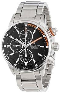 Maurice Lacroix Men's PT6008-SS002332 Pontos Black Chronograph Dial Watch
