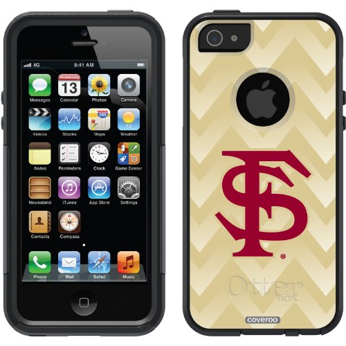 Special Sale Florida State Gradient Chevron design on a Black OtterBox® Commuter Series® Case for iPhone 5s / 5