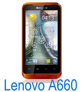 "Lenovo A660 Waterproof Dual-Core 1GHz Dual 4"" Sim Dual Mode Android 4.0 Handy"