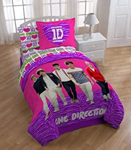One Direction's Beautiful Comforter, Twin from Jay Franco and Sons, Inc.