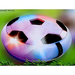 Smart Picks Battery Operated Pro Football Soccer Game With Foam Bumper And Colourful LED Lights