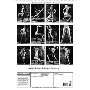 Hautnah - Erotische Einblicke ins Wohnzimmer (Wandkalender 2016 DIN A2 hoch): Schwarz