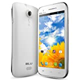 BLU Studio 5.0 D530 Unlocked GSM Phone with Android 4.1 OS, Dual SIM, Dual-Core Processor, 5.0