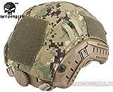 MFZ サバゲー 装備 ヘルメット カバー Ops-Core Fast タイプ マルチカム 迷彩 タクティカル ヘルメットカバー 米軍 特殊部隊 ネイビー シールズ AOR2 迷彩 色 ke-mc1203