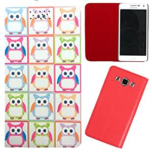 DooDa - For Karbonn Smart A111 PU Leather Designer Fashionable Fancy Flip Case Cover Pouch With Smooth Inner Velvet