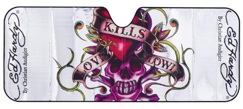 Ed Hardy® Love Kills Slowly Jumbo Accordion Sun Shade