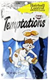 Whiskas 12-Pack Temptations Hairball Control Chicken Flavour Treats for Cats, 2.1-Ounce