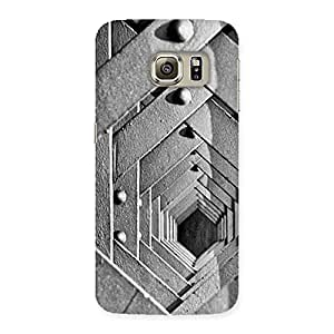 Delighted Block Cage Back Case Cover for Samsung Galaxy S6 Edge