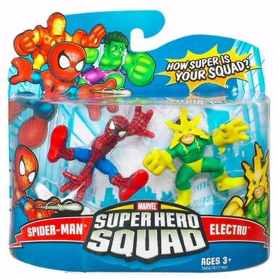 Marvel Superhero Squad Series 16 Spider-Man & Electro Action Figure 2-Pack