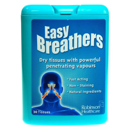Robinson Healthcare Easy Breathers Dry Tissues - 30 Tissues (x6)