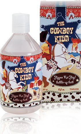 The Cowboy Kidd Tearless Bubble Bath (8 Fl. Oz) - 1