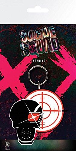 Suicide Squad - Deadshot Portachiave (15 x 7cm)
