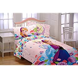 6 Piece Full Size Frozen Bedding Set Plus Olaf Pillow (Full)