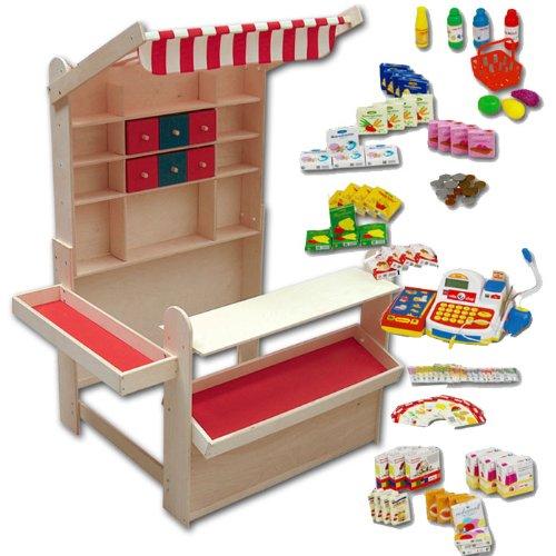 Roba Kaufladen Aus Holz Inklusive KaufladenzubehOr ~ Kaufladen Plaho  Preisvergleiche, Erfahrungsberichte und Kauf bei