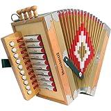 Scarlatti Cajun C Melodeon Accordion