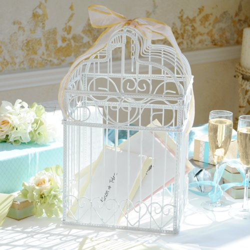 Reception Gift Card Holder Birdcage Wedding Reception Gift Card