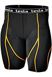 New Men's Tesla Compression Tights Under Base Layer Gear Armour Wear Shorts S07