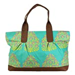 Amy Butler for Kalencom Abina Tote – Henna Tree Mineral