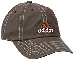 adidas Men's Weekend Warrior Cap (ESPRESSO/LONGHORN ORANGE/WHITE, One Size Fits All)