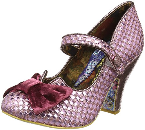 Irregular ChoiceFancy This - Scarpe con Tacco donna , Rosa (Rosa (Pink)), 40