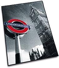 Herding 645950013 Tapis Motif métro de Londres 80 x 120 cm