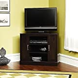 Cherry Corner TV Stand with Storage For TV's up to 37 inches