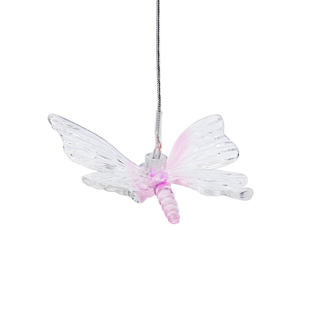 Changing Color Butterfly Wind Chime, AceList Spiral Spinner Windchime Portable Outdoor Decorative Romantic Windbell Light for Patio, Deck, Yard, Garden, Home, Pathway