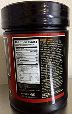 Optimum Nutrition 100% Whey Gold Standard, Double Rich Chocolate, 1 Pound