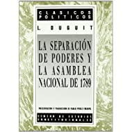 Separacion de poderes y la asamblea nacional de 1789, la