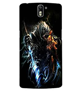 ColourCraft Dark King Design Back Case Cover for OnePlus One