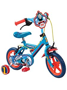 "Thomas The Tank Engine 12"" Childrens Bike With Removable Stabilisers"