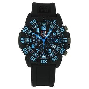 Luminox Men's 3083 Resin Analog Black Dial Watch