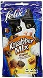 Felix Knabber Mix Katzensnack Original, 8 Packungen (8 x 60 g)